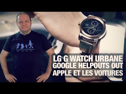 #freshnews 798 LG G Watch Urbane. Google Helpouts out. Apple Car