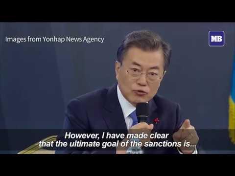 S. Korea's Moon willing to hold summit with Kim Jong-Un
