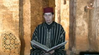 سورة المعارج  برواية ورش عن نافع القارئ الشيخ عبد الكريم الدغوش