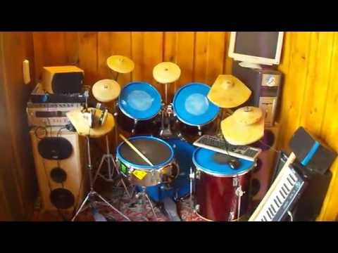 Как своими руками сделать барабанную установку