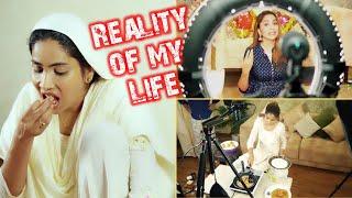 Reality of my life - इस तरह करना पड़ता है मुझे अपना काम???????? My Ramadan Routine 2020- A Day in my