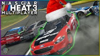 It's a Christmas Miracle! (I Don't Completely Suck!) | Multiplayer | NASCAR Heat 3