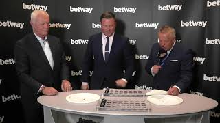 2018 Betway World Cup of Darts Draw