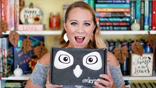 LIMITED EDITION OWLCRATE UNBOXING! [VICIOUS & VENGEFUL]
