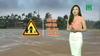 Thời tiết tổng hợp 20/07/2018: Bão số 3 chỉ mạnh cấp 8 và suy yếu nhanh nhưng vẫn gây mưa | VTC14
