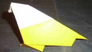 How To Make Cute Easy 3d Bird Origami 小鳥折り紙 Pájaro 鸟 Ptak Ave Burung Ibon птица