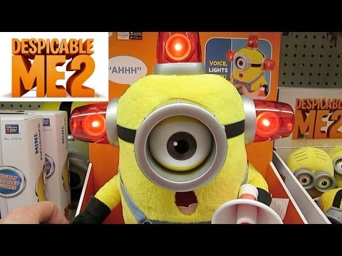 Despicable Me Minion Made Toys In Store Preview Toys R Us video