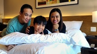 VLOG: Bellevue Manila in Alabang Family Staycation