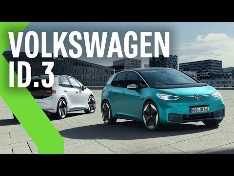 VOLKSWAGEN ID.3: el 100% ELÉCTRICO de la marca con 550KM de AUTONOMÍA