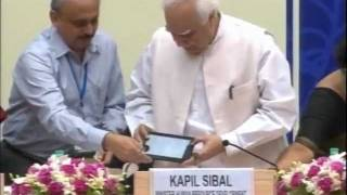 Launch of Low Cost Access Device Aakash - The 35$ Indian Tablet PC - Official Video Coverage