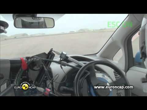 Euro NCAP | Nissan Leaf | 2012 | Электронный контроль устойчивости