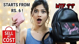 *HONEST* opinion about SELL AT COST   Haul starting from Rs. 6 only!!   Manasi Mau