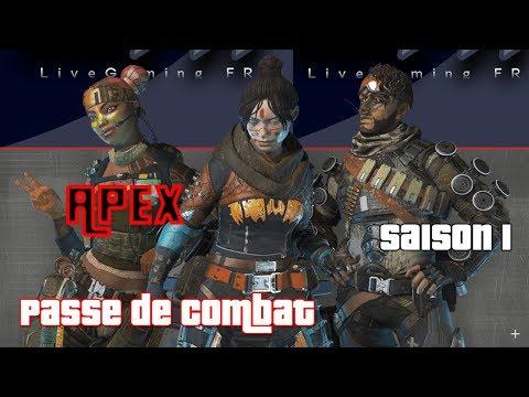 APEX SAISON 1 DÉCOUVERTE PASSE DE COMBAT & BONUS [MAJ 1.05]