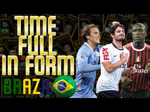 TIME FULL InForm BRAZIL! - FIFA 13 - Ultimate Team!