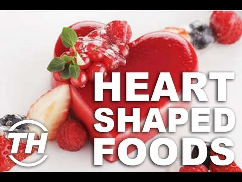 Heart-Shaped Foods - Jaime Neely Shares Quirky Valentine s Day Treats