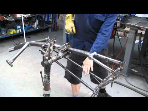 Building a recumbent tricycle frame part 2