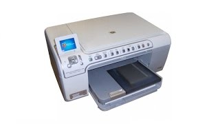 My HP Photosmart C5280 All-In-One Printer . Scanner . Copier Review