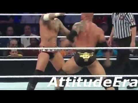 WWE ELIMINATION CHAMBER 2013 The Rock vs CM Punk