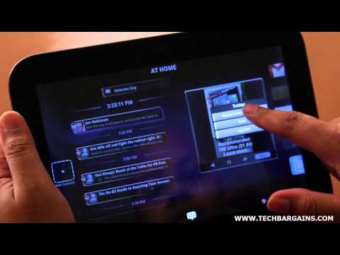 Lenovo ideapad tablet k1 video review hd