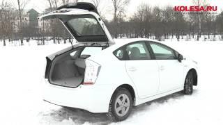 Тест-драйв Toyota Prius (Kolesa.ru)