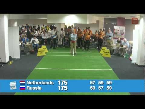 European Archery Indoor Championships Rzeszow 2013 - Netherlands vs Russia Gold RM