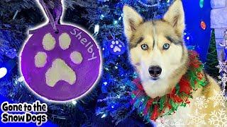 DIY Paw Print Christmas Ornaments | Make Your own Dog Ornaments