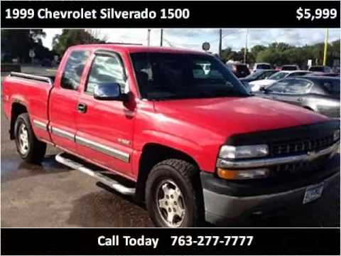 1999 Chevrolet Silverado 1500 Used Cars Spring Lake Park MN