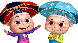 Five Little Babies Playing In The Rain   Five Little Babies Collection   Zool Babies Fun Songs