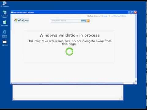 how to activate windows xp sp3 manually