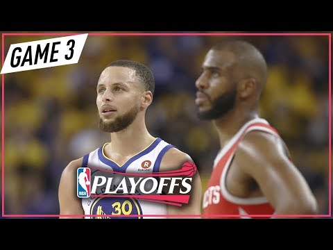 Houston Rockets vs Golden State Warriors - Game 3 - Highlights | May 20, 2018 | 2018 NBA Playoffs