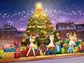 [デレステ 3D MV] 冬空プレシャス(メリークリスマスVer。B)(公演メンバー:智絵里、未央、みく)