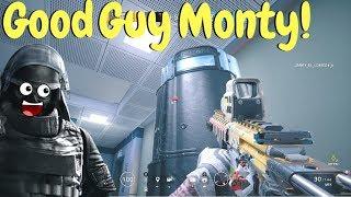 Friendly Monty OP in Rainbow Six Siege