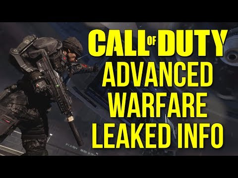 MW4 Leaked Gameplay Info: Sledgehammer Games