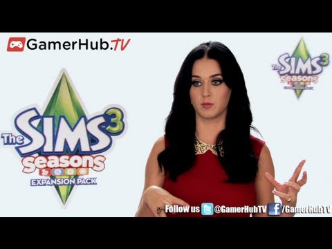 American Music Award Singer Katy Perry Talks Gaming and The Sims