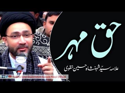 Haq Mehar by Allama Syed Shahenshah Hussain Naqvi