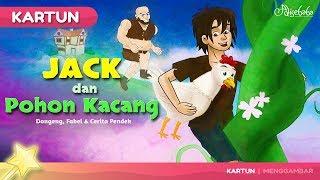 Jack dan Pohon Kacang - Kartun Anak Cerita2 Dongeng Anak Bahasa Indonesia - Cerita Untuk Anak Anak