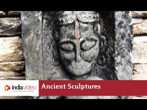 Ancient Sculptures at Naggar Castle in Kullu