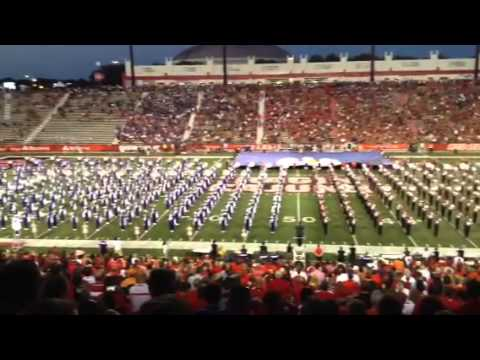 Amazing grace tribute with NSU & ULL combined bands
