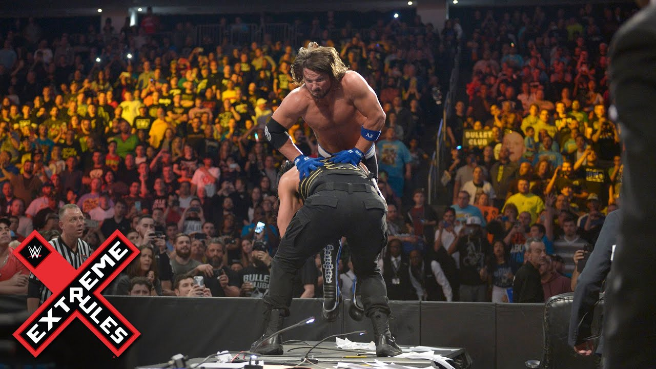 AJ Styles vs. Roman Reigns - Extreme Rules Match: 2016 WWE Extreme Rules on WWE Network