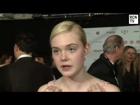 Elle Fanning Interview Maleficent & Angelina Jolie
