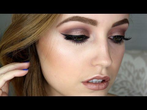 Taupe & Purple Makeup Tutorial