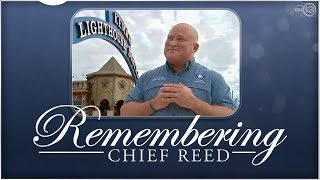 LIVE: Memorial service remembering Kemah Police Chief Chris Reed