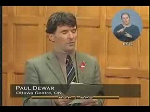 NDP: Paul Dewar on the UN Mission in Darfour