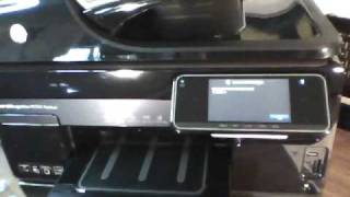 HP Officejet 8500A Premium | Power-On to Test Page