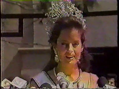 CECILIA BOLOCCO - MISS UNIVERSE 1987