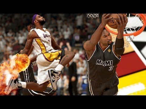 NBA 2K14 Next Gen MyGM #47 - LeBron James vs. Dwyane Wade. Who Will Become NBA Champion?