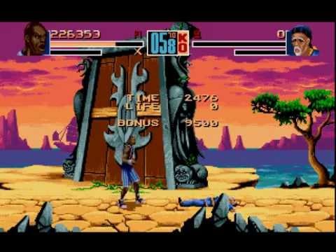Shaq Fu Longplay (Mega Drive/Genesis)