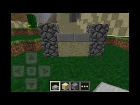 Minecraft pocket edition part 6 how to make furniture