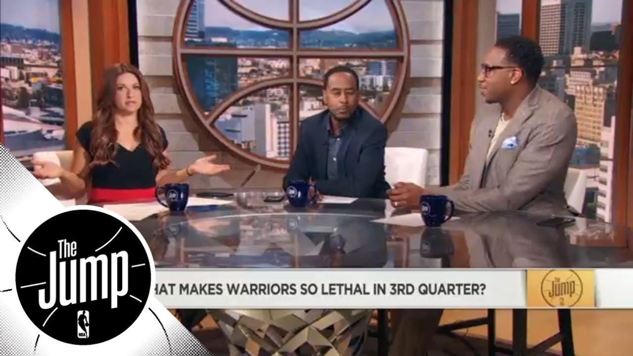 Rachel Nichols: Warriors' 'arrogance' is what makes them so lethal in 3rd quarter | The Jump | ESPN