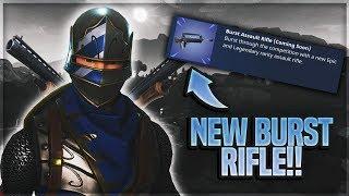 Fortnite livestream - NCS MUSIC Ya or Na - NEW Burst assault Rifle